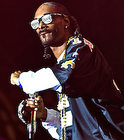 Snoop Dogg playing at the 2011 Voodoo Festival in New Orleans, LA.