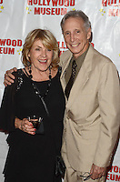 "HOLLYWOOD, CA - AUGUST 18:  Charlotte McKenna, Johnny Crawford at ""Child Stars - Then and Now"" Exhibit Opening at the Hollywood Museum on August 18, 2016 in Hollywood, California. Credit: David Edwards/MediaPunch"