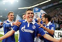 FUSSBALL   1. BUNDESLIGA   SAISON 2011/2012    17. SPIELTAG FC Schalke 04 - SV Werder Bremen                            17.12.2011 Torjubel: Kyriakos Papadopoulos (FC Schalke 04)