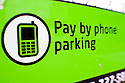 LB00003-00...WASHINGTON - Pay fo parking by phone  in Seattle.