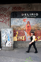 Delirio, Colonia Roma, Mexico DF.