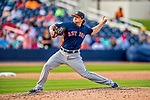 28 February 2017: Houston Astros pitcher Ken Giles on the mound during the Spring Training inaugural game against the Washington Nationals at the Ballpark of the Palm Beaches in West Palm Beach, Florida. The Nationals defeated the Astros 4-3 in Grapefruit League play. Mandatory Credit: Ed Wolfstein Photo *** RAW (NEF) Image File Available ***