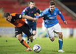 St Johnstone v Dundee United...27.12.14   SPFL<br /> Chris Millar and John Rankin<br /> Picture by Graeme Hart.<br /> Copyright Perthshire Picture Agency<br /> Tel: 01738 623350  Mobile: 07990 594431