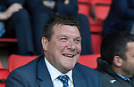 St Johnstone Player of the Year Awards 2014-15.....16.05.15<br /> A smile from Tommy Wright as he reacts to Chairman Steve Brown's speech<br /> Picture by Graeme Hart.<br /> Copyright Perthshire Picture Agency<br /> Tel: 01738 623350  Mobile: 07990 594431
