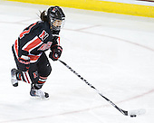 Rachel Llanes (NU - 11) - The Northeastern University Huskies tied Boston University Terriers 3-3 in the 2011 Beanpot consolation game on Tuesday, February 15, 2011, at Conte Forum in Chestnut Hill, Massachusetts.