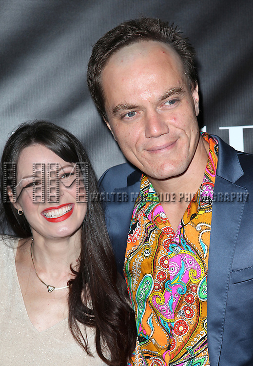 Kate Arrington and Michael Shannon attending the Opening Night Performance After Party for 'Grace' at The Copacabana in New York City on 10/4/2012.