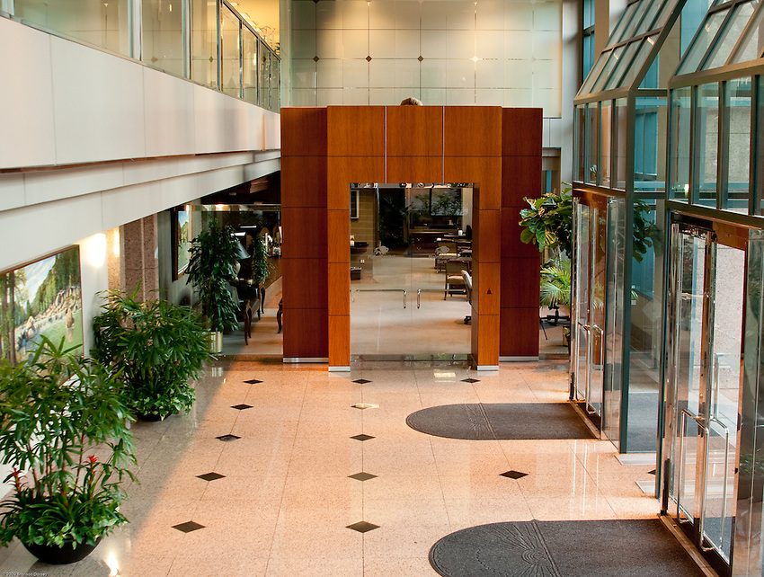 Office building lobby bronson dorsey photography - Portal entree ownership ...