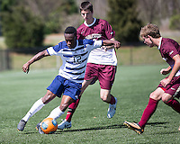 The College of Charleston Cougars played the  Georgia Southern Eagles in The Manchester Cup on April 5, 2014.  The Cougars won 2-0.  Evan Rees (12)