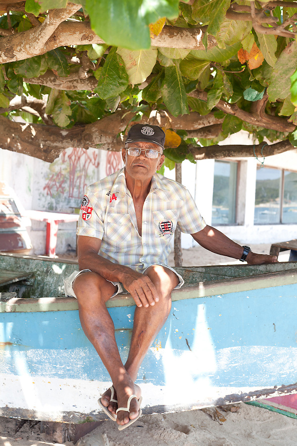 **have to check my notes for his name<br /> <br /> Resident and longtime fisherman of Buzios at Canto beach.