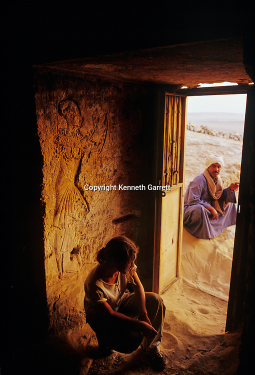 Amarna Tomb of Parannefer, Akhenaten official,Tutankhamun and the Golden Age of the Pharaohs, Page 91