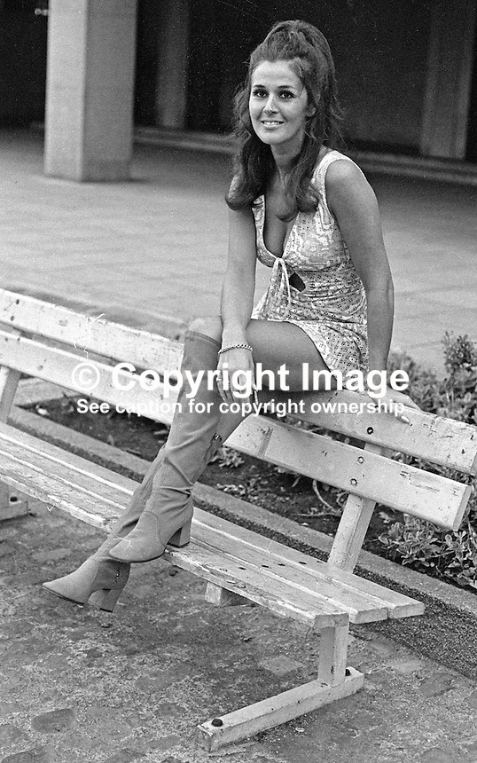 Susan Knowles, aka Susan Riddell, native of Londonderry, N Ireland, Miss Ireland 1958. Susan now (2012) lives in Newberry, Berkshire with husband, Arnie Knowles. She has five grandchildren. 19700900324SK2.<br /> <br /> Copyright Image from Victor Patterson,<br /> 54 Dorchester Park, Belfast, UK, BT9 6RJ<br /> <br /> t1: +44 28 90661296<br /> t2: +44 28 90022446<br /> m: +44 7802 353836<br /> <br /> e1: victorpatterson@me.com<br /> e2: victorpatterson@gmail.com<br /> <br /> For my Terms and Conditions of Use go to<br /> www.victorpatterson.com