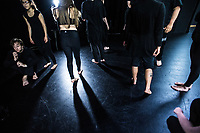 Te Auaha Stage and Screen performance photoshoot in at Whitireia Performance Centre in Wellington, New Zealand on Wednesday, 10 May 2017. Photo: Dave Lintott / lintottphoto.co.nz