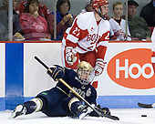Ryan Thang (Notre Dame - 9), Vinny Saponari (BU - 27) - The University of Notre Dame Fighting Irish defeated the Boston University Terriers 3-0 on Tuesday, October 20, 2009, at Agganis Arena in Boston, Massachusetts.