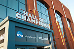 USA, Indiana, Indianapolis, Hall of Champions, National Collegiate Athletic Association Museum..