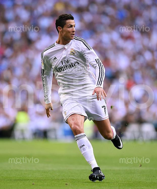FUSSBALL  INTERNATIONAL  PRIMERA DIVISION  SAISON 2014/2015    9. Spieltag   El Clasico   Real Madrid  - FC Barcelona        25.10.2014 Cristiano Ronaldo (Real Madrid)
