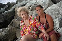 Alcuni abitanti dell'Isola di Gorgona. Some inhabitants of the island of Gorgona.