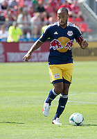 20 July 2013:New York Red Bulls forward Thierry Henry #14 in action during an MLS regular season game between the New York Red Bulls and Toronto FC at BMO Field in Toronto, Ontario Canada.<br /> The game ended in a 0-0 draw.