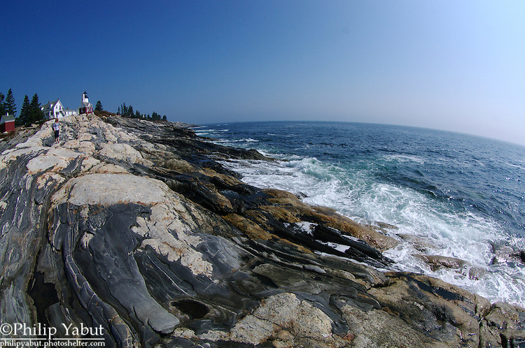 Pemaquid Point Lighthouse is depicted on Maine's state quarter.