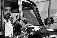A proud Mumbai, taxi driver, Mumbai, India