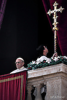 Pope Francis Urbi et Orbi Christmas Day of St. Peter's Basilica in Vatican ,25 December 2016