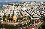 October 16, 2005; San Francisco, CA, USA; Aerial view of the Palace of Fine Arts and Marina district in San Francisco, CA. Photo by: Phillip Carter