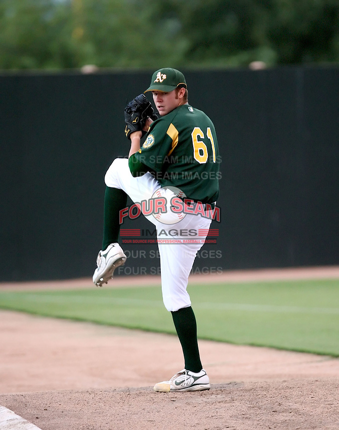 Ryan Doolittle / AZL Athletics..Photo by:  Bill Mitchell/Four Seam Images