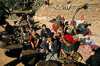A marriage ceremony in Rolpa District