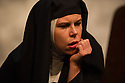 London, UK. 17.07.2014. Mountview Academy of Theatre Arts presents THE HOUSE OF BLUE LEAVES, by John Guare, directed by Jacqui Somerville, at the Unicorn Theatre, as part of the Postgraduate Season 2014. Picture shows: Suzy Whitefield (Second Nun). Photograph © Jane Hobson.