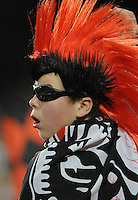 DC United fan.  DC United tied The Colorado Rapids 1-1, at RFK Stadium, Saturday  May 14, 2011.