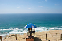 Lifeguard at Black's Beach - La Jolla - California