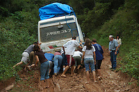 Stuck in the mud, Buena Vista, Bolivia