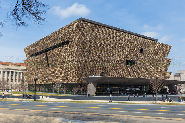 The Smithsonian National Museum of African American History and Culture in Washington, DC.