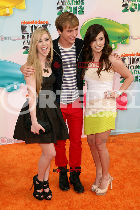 Lucas Cruikshank at Nickelodeon's 25th Annual Kids' Choice Awards at The Galen Center on March 31, 2012 in Los Angeles, California. &copy; mpi26/MediaPunch Inc. /NortePhoto<br />