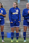 14 November 2014: South Dakota State's Nicole Hatcher. The University of North Carolina Tar Heels hosted the South Dakota State University Jackrabbits at Fetzer Field in Chapel Hill, NC in a 2014 NCAA Division I Women's Soccer Tournament First Round match. UNC won the game 2-0.