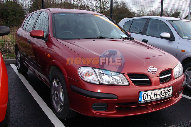 01 LH 4269 Almera..Photo Fran Caffrey Newsfile.ie..This Picture has been sent to you by Newsfile Ltd..The Studio,.Millmount Abbey,.Drogheda,.Co. Meath,.Ireland..Tel: +353(0)41-9871240.Fax: +353(0)41-9871260.ISDN: +353(0)41-9871010.www.newsfile.ie..general email: pictures@newsfile.ie