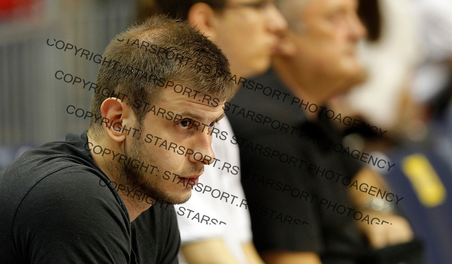 Novica Velickovic KLS Kosarkaska Liga Srbije finale play off 2. utakmica Partizan - Crvena Zvezda Jun 15. 2015. Beograd, Srbija,  (credit image & photo: Pedja Milosavljevic / STARSPORT)