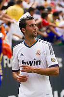 Alvaro Arbeola (17) of Real Madrid. Real Madrid defeated Celtic F. C. 2-0 during a 2012 Herbalife World Football Challenge match at Lincoln Financial Field in Philadelphia, PA, on August 11, 2012.