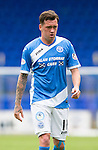 St Johnstone FC&hellip; Season 2016-17<br />Danny Swanson<br />Picture by Graeme Hart.<br />Copyright Perthshire Picture Agency<br />Tel: 01738 623350  Mobile: 07990 594431