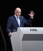 FIFA Kongress 2016 elects new FIFA President Gianni Infantino