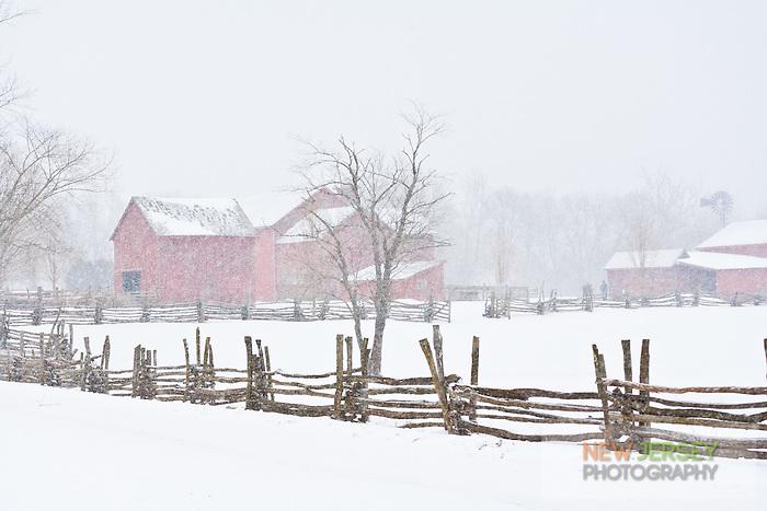 Winter Farm, Howell Living History Farm, New Jersey