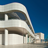 J. Paul Getty Museum at the Getty Center in ,Brentwood, Los Angeles, California, USA, by Richard Meier