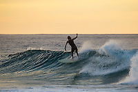HONOLULU, North Shore, Off The Wall - (Wednesday, November 21, 2012) Alex Knost (USA) cruising at Off The Wall. -- There was small 2'-3 surf at Off The Wall this morning which was starting to build from the north late in the day.  Photo: joliphotos.com