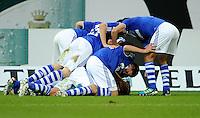 FUSSBALL   1. BUNDESLIGA   SAISON 2011/2012    11. SPIELTAG FC Schalke 04 - 1899 Hoffenheim                            29.10.2011 Schalker Torjubel nach dem 3:1
