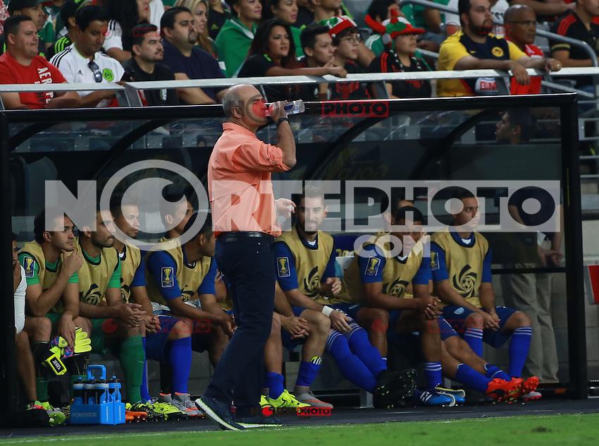 Ivan Sopengo de Guatemala  ,durante partido entre las selecciones de Mexico y Guatemala  de la Copa Oro CONCACAF 2015. Estadio de la Universidad de Arizona.<br /> Phoenix Arizona a 12 de Julio 2015.