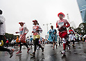 Feb. 28, 2010 - Tokyo, Japan - Runners take part during the 2010 Tokyo Marathon. More than 30,000 athletes participated in the event.