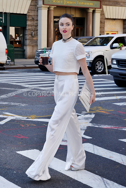 WWW.ACEPIXS.COM<br /> <br /> September 15 2015, New York City<br /> <br /> TV personality Emma Miller out in Soho on September 15 2015 in New York City<br /> <br /> By Line: Curtis Means/ACE Pictures<br /> <br /> <br /> ACE Pictures, Inc.<br /> tel: 646 769 0430<br /> Email: info@acepixs.com<br /> www.acepixs.com