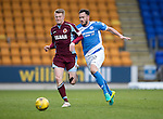 St Johnstone v Stenhousemuir&hellip;21.01.17  McDiarmid Park  Scottish Cup<br />Alan Cook and Keith Watson<br />Picture by Graeme Hart.<br />Copyright Perthshire Picture Agency<br />Tel: 01738 623350  Mobile: 07990 594431