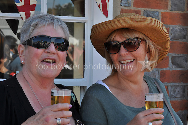At The Coach and Horses, Wallingford Bunkfest 2013.