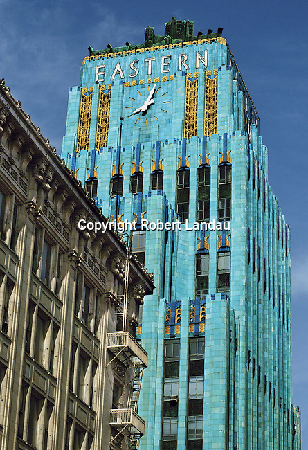 The Art Deco Eastern building in downtown Los Angeles