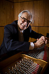 Dave Brubeck at the University of the Pacific, in Stockton, California December 14, 2008.
